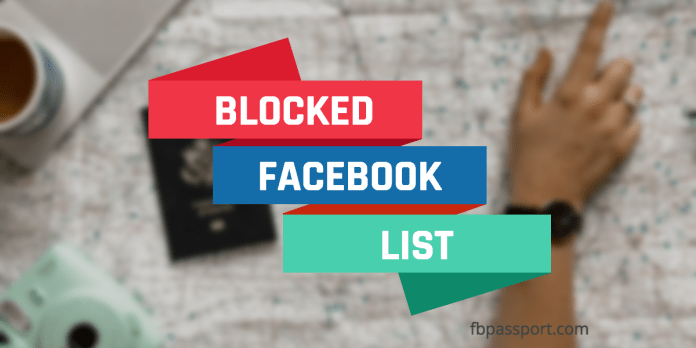 How To find your Facebook block list to unblock someone | How To Access Your Blocked List On Facebook
