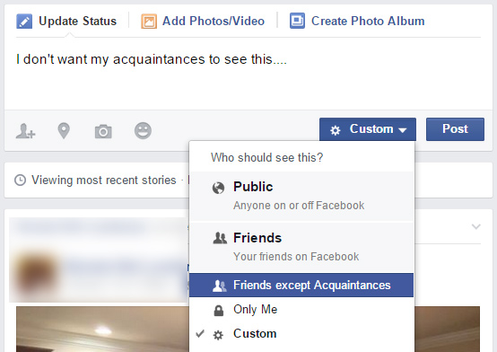 Facebook Acquaintances | How To Send Someone To Facebook Acquaintance List