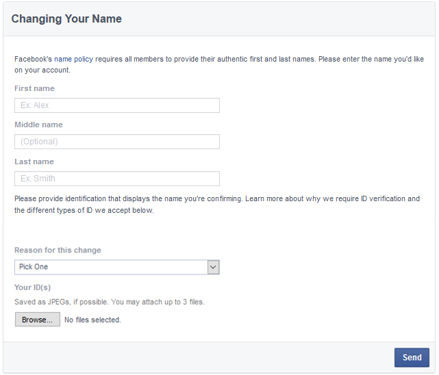 How To Change Facebook Profile Name After Crossing Limit - FB Name Change After Limit