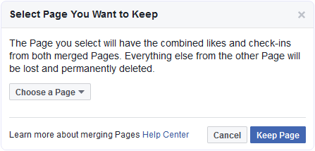 How Can I Merge Pages On Facebook